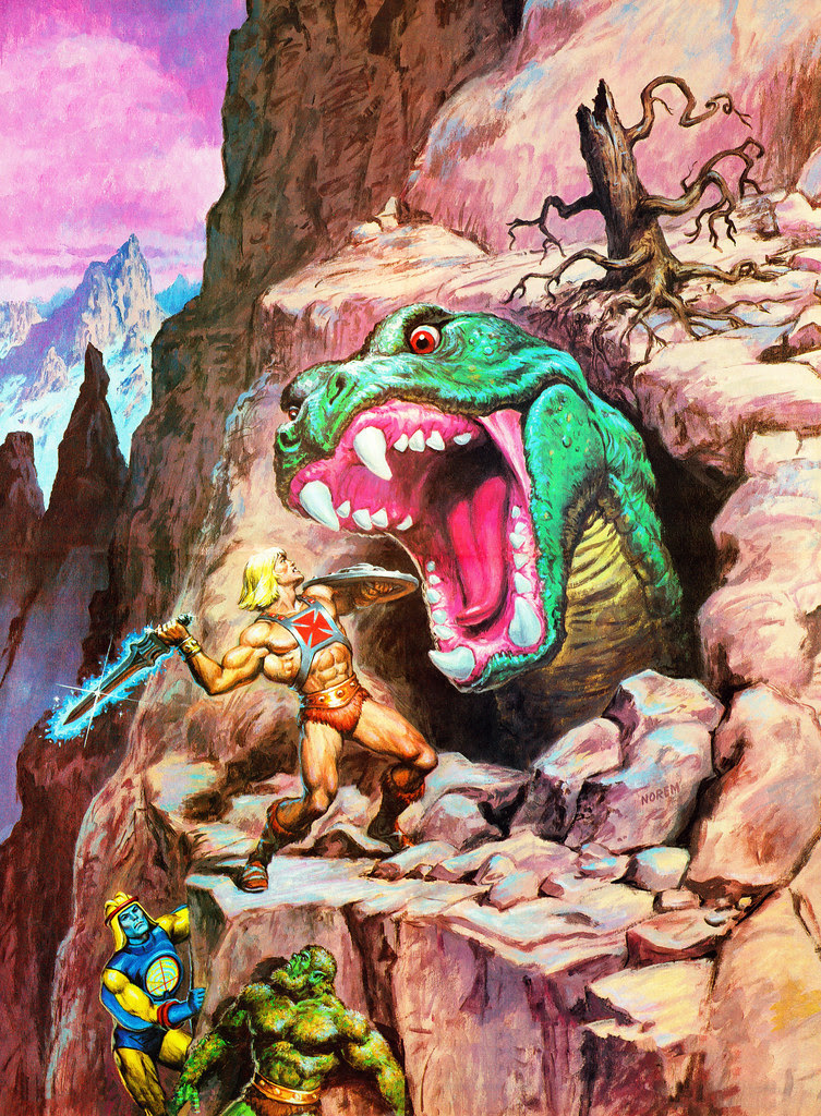 Masters Of The Universe - 10 (painting by Earl Norem)
