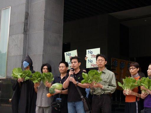 我從素食談未來國家的減碳政策,以及外交政策
