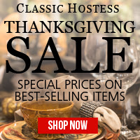Classic Hostess Thanksgiving Sale