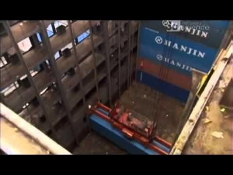Documental de Mega Construcción de Buque Porta-Contenedores