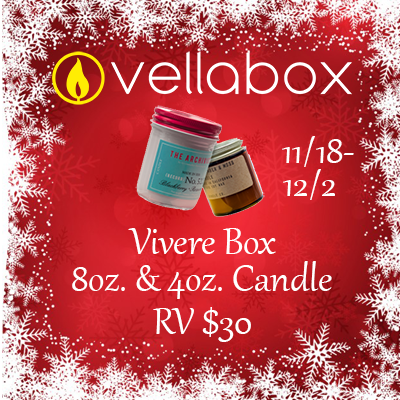 Vellabox 2017 Christmas Giveaway. Ends 12/2