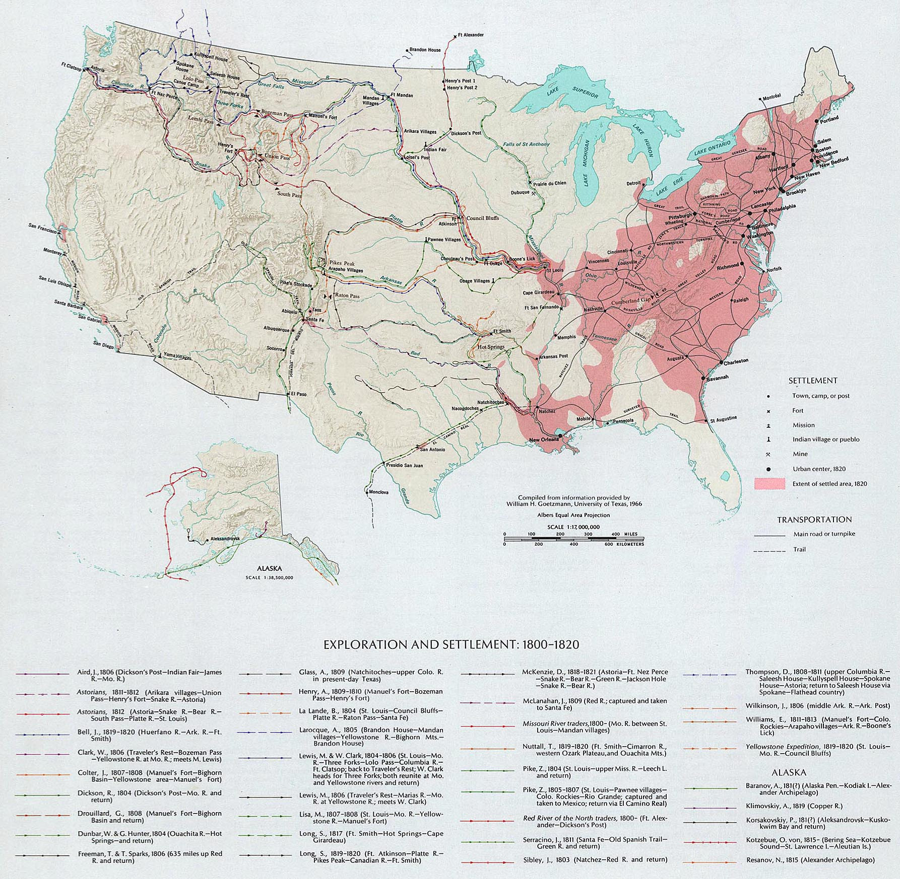 Maps Usa Map - 1850 map of us