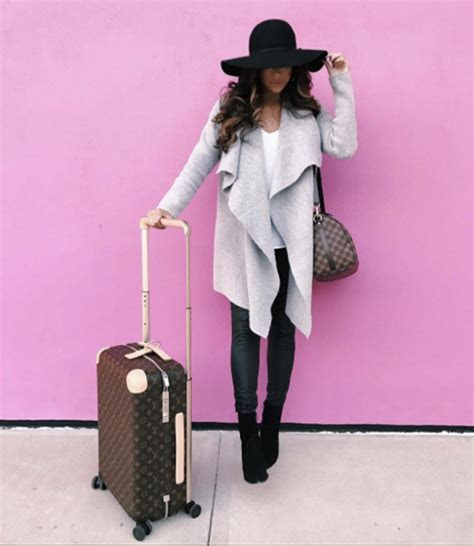 5 Comfortable Winter Travel Outfits   Inspired By This