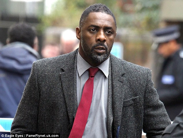 Idris Elba, pictured, is the bookies favourite to play James Bond once Daniel Craig finishes with the role