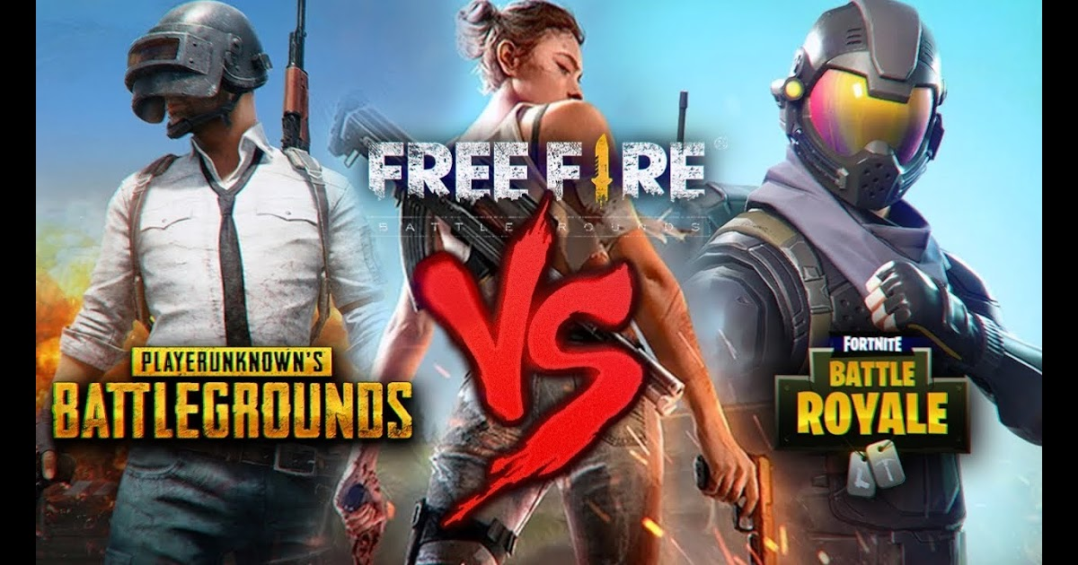 Memes Free Fire Vs Pubg Vs Fortnite