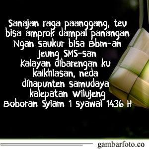 Ucapan Selamat Hari Raya Idul Fitri Bahasa Jawa Kromo Inggil