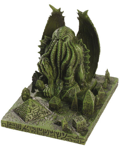 HP Lovecraft Call of Cthulhu domain statue