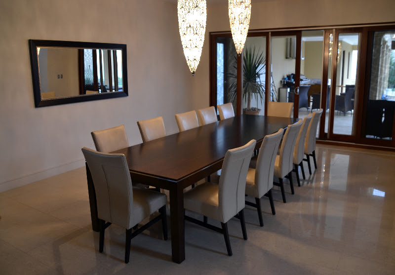 10 person dining table set