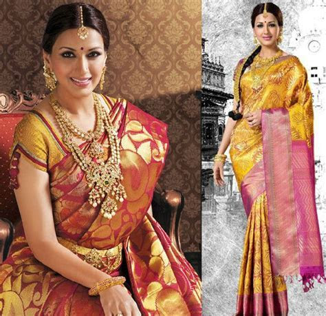 17 Best ideas about Bridal Sarees on Pinterest   Lengha