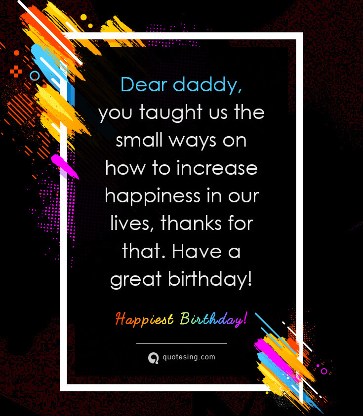 50 Sweet Happy Birthday Wishes For Father Quotesing