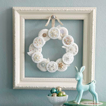 Snow-Puff Wreath