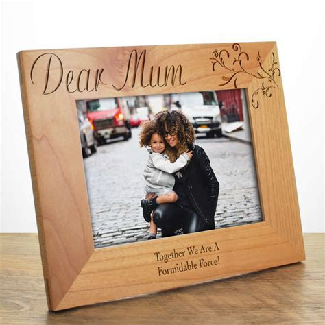 Personalised Photo Frame For Mum