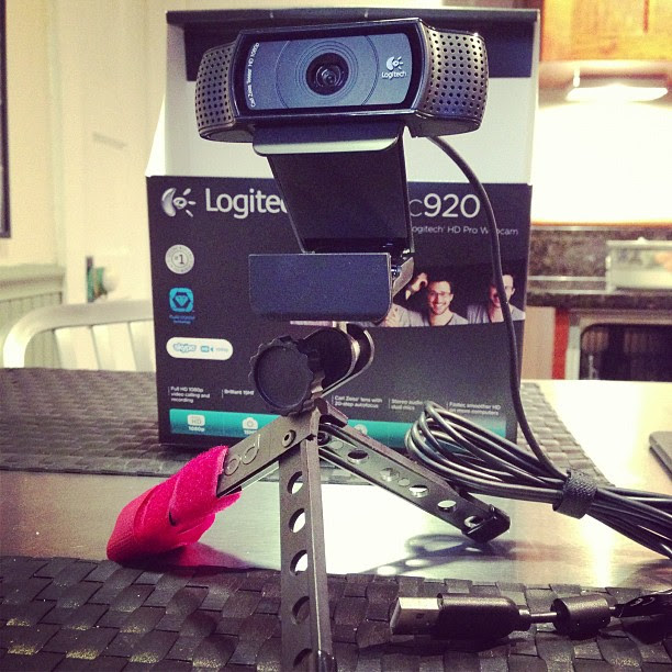 8614cca8421 Off On A Tangent: [Review] Logitech HD Pro Webcam C920. Does it work ...