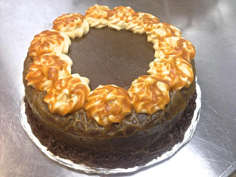 Dulce de leche cake from http://www.thejoyofglutenfree.com/