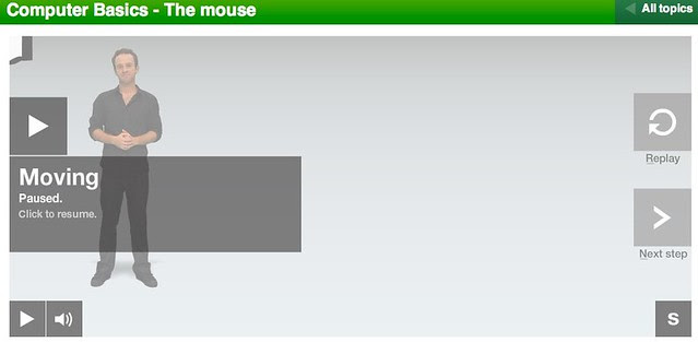 BBC - WebWise - Computer Basics - The mouse