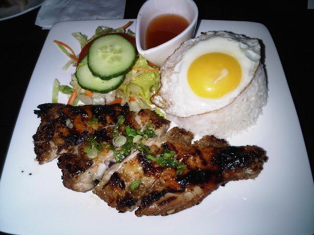 Lemon Grass Pork Chop with Rice 3