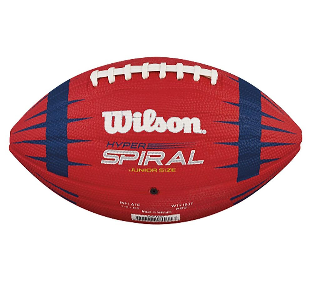 Wilson Hyper Spiral NFL Play 60 Junior Size American Football Ball  WTF1837  eBay