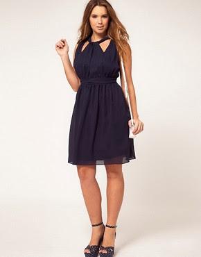 Image 4 ofASOS CURVE Dress With Grecian Detail