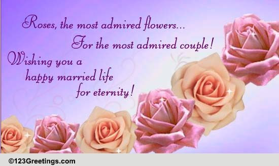 Happy Married Life Free World Marriage Day Ecards Greeting Cards