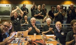Members of the New Horizons science team