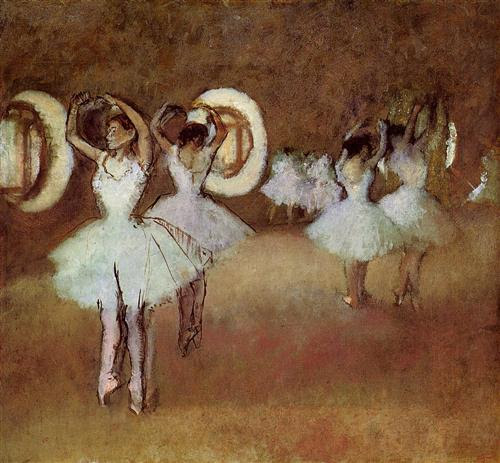 Dance Rehearsal in the Studio of the Opera - Edgar Degas