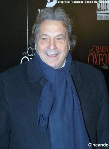 Sancho Gracia en la premiére de Los Crímenes de Oxford_1