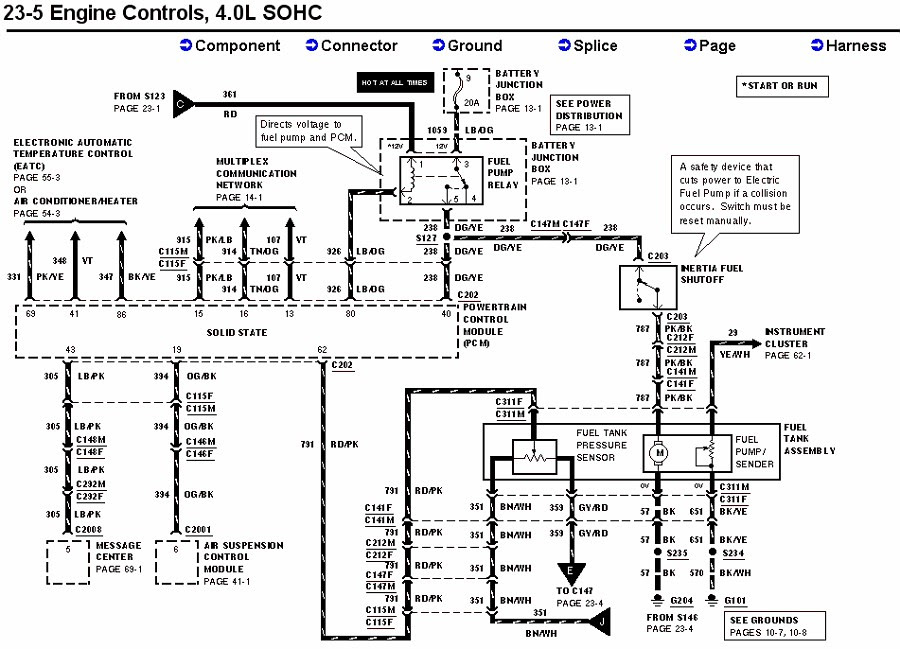 2002 Ford Mustang Fuel Diagram Wiring Diagrams Auto Collection Collection Moskitofree It
