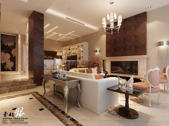 modern chinese style interiors