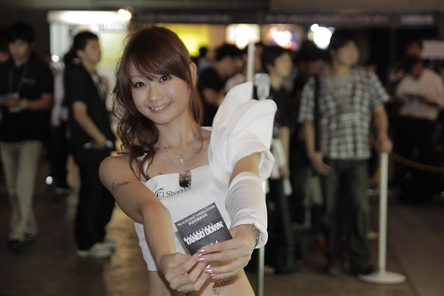 Another Ignition booth girl