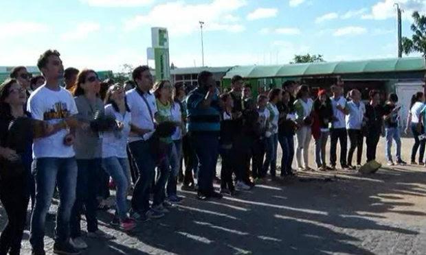 Estudantes afirmam que falta segurança no campus Caruaru / Foto: Reprodução/TV Jornal.