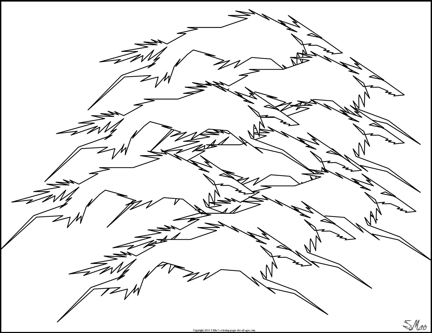 Abstract Coloring Pages - S.Mac's Place to Be
