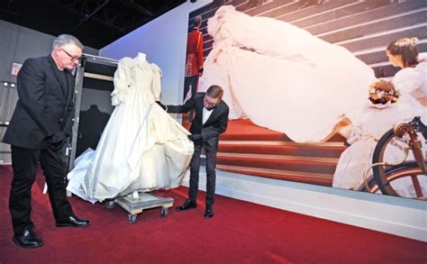 Video: Diana's wedding gown unveiled at West Edmonton Mall