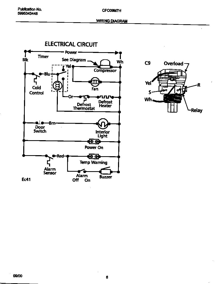chest freezer wiring diagram image 2