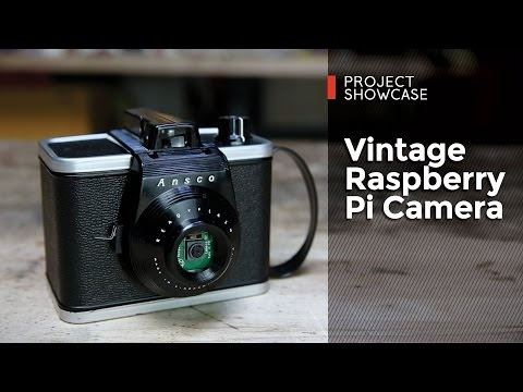 Make Your Vintage Raspberry Pi Camera