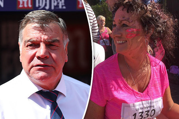 Sam Allardyce close friend Jane Tweddle-Taylor died in Manchester attack