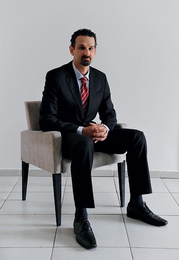 "RECADO Gerson Schaan, da Receita Federal. ""Transmitimos a mensagem de que, se pegamos as grandes empresas, podemos pegar qualquer empresa"" (Foto: Cândido Neto/ÉPOCA)"