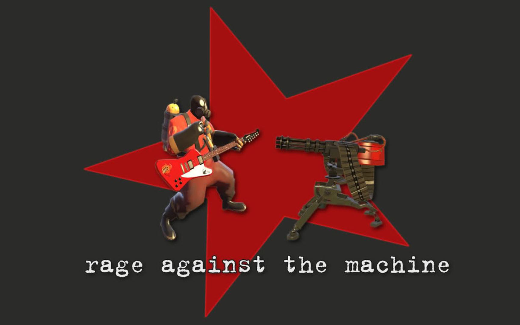 Rage Against The Machine Team Fortress 2 Wallpaper