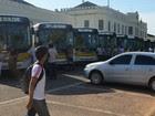 Motoristas pedem aumento salarial (Tácita Muniz/G1)
