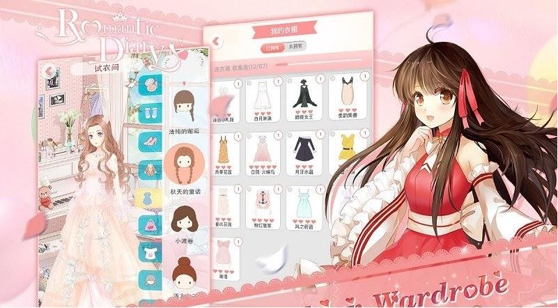 cách chơi game Nhật Ký Tình Yêu trên máy tính