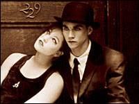 Dresden Dolls band mates Amanda Palmer and Brian Viglione