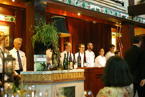 the chefs and staff