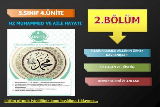 5.4.2.bölüm: Hz.Muhammed ve aile hayatı