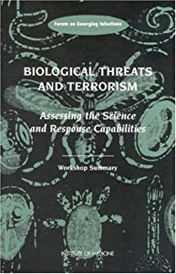 """Cover of """"Biological Threats and Terroris..."""
