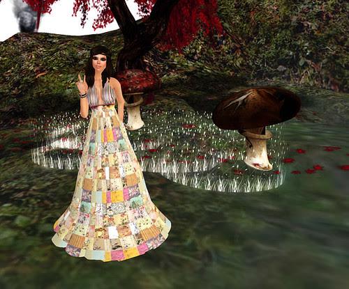 Sn@tch - Barefoot Asian dress