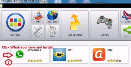 Installing Whatsapp in PC