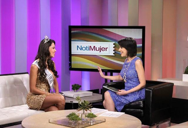 Yéssica Mouton entrevistada por Mercedes Soler (Foto 1)