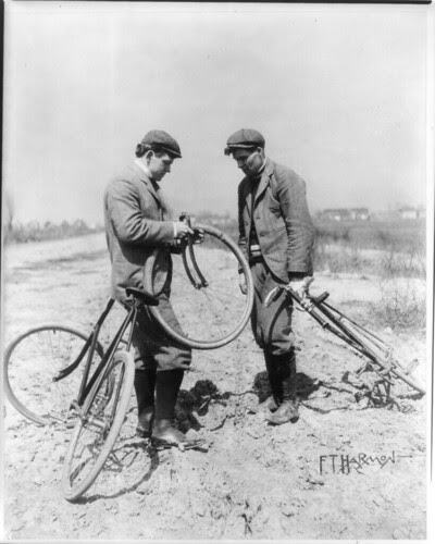 Two Men & Bike (1897)