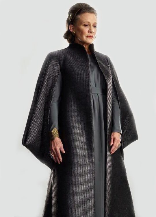 New promotional still of Leia Organa in The Last Jedi