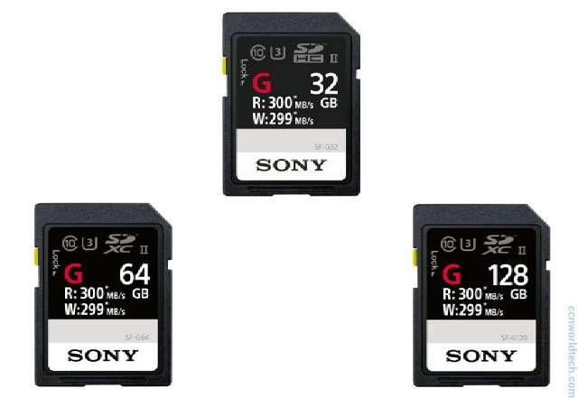 Sony SF-G Series UHS-II SD Card
