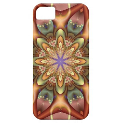 Decorative kaleidoscope iPhone 5 case-mate case